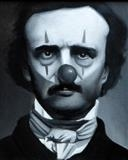 Clown Poe by Steve Lawson, Painting, Oil on Wood